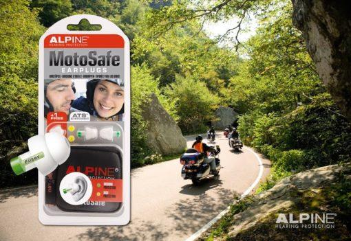 Alpine MotoSafe on the road