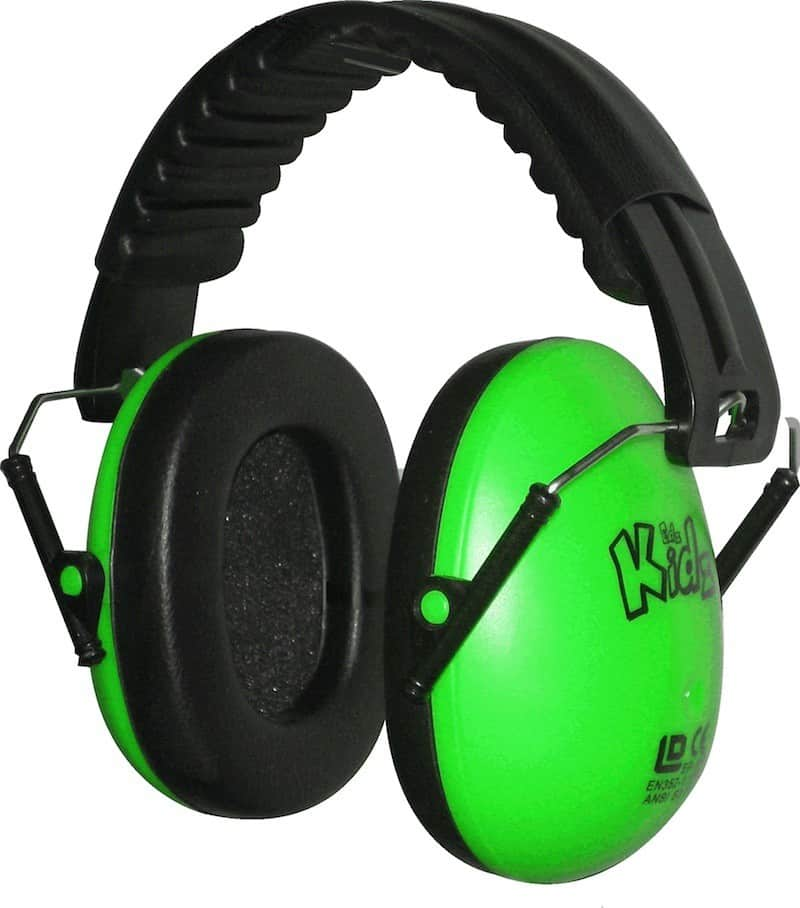 Kinder Gehörschutz Farbe GRÜN