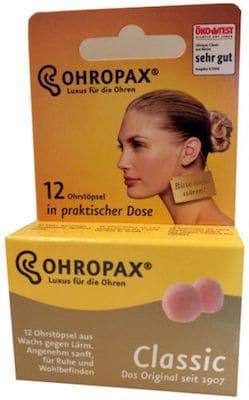 Ohropax Classic Box 12 Stück