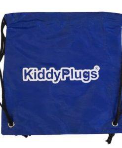 Kinder Gehörschutz Nylon Säckchen blau