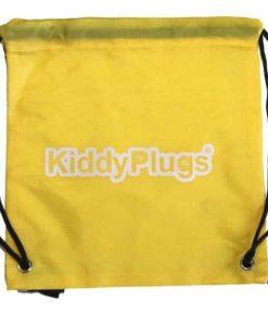 Kinder Gehörschutz Nylon Säckchen gelb