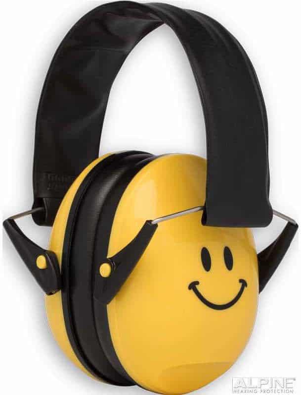 Edz Kidz Ear Defenders Yellow