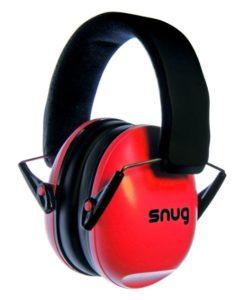 SNUG Gehörschutz rot