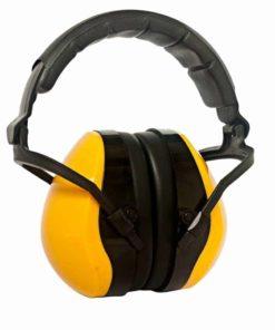Gehörschutz aus Kunststoff für Erwachsene gelb