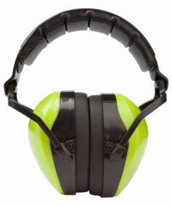 Gehörschutz aus Kunststoff für Erwachsene grün
