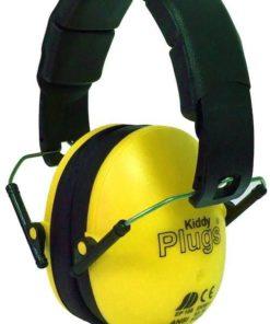 Kinder Gehörschutz gelb KiddyPlugs seitlich