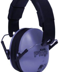Kinder Gehörschutz lila KiddyPlugs seitlich