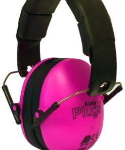 Kinder Gehörschutz pink KiddyPlugs seitlich
