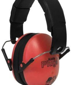 Kinder Gehörschutz rot KiddyPlugs seitlich