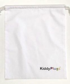 Kinder Gehörschutz Säckchen Baumwolle weiss