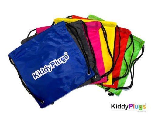 Kinder Gehörschutz Nylon Säckchen alle Farben