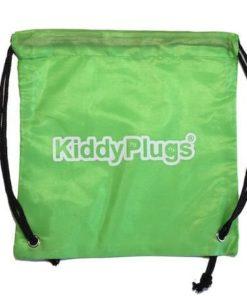 Kinder Gehörschutz Nylon Säckchen grün