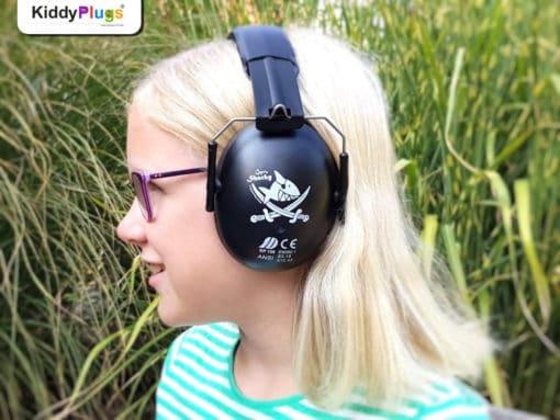 Kinder Gehörschutz Pirat Captn Sharky Ida seitlich