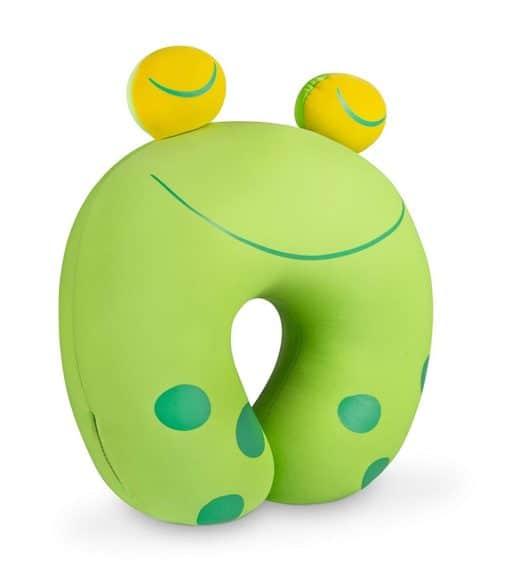 Nackenkissen Frosch grün