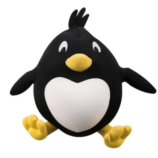 Nackenkissen Kuschelkissen Pinguin vorne